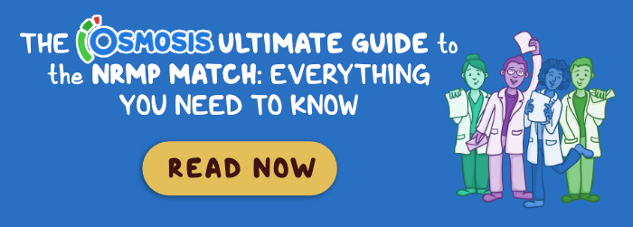 Osmosis display ad for the NRMP Match Ultimate Guide.
