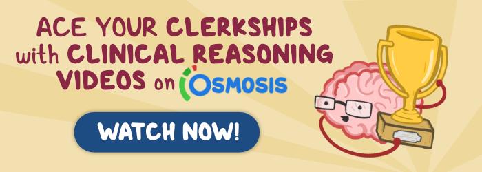 Osmosis Clinical Reasoning videos display ad.