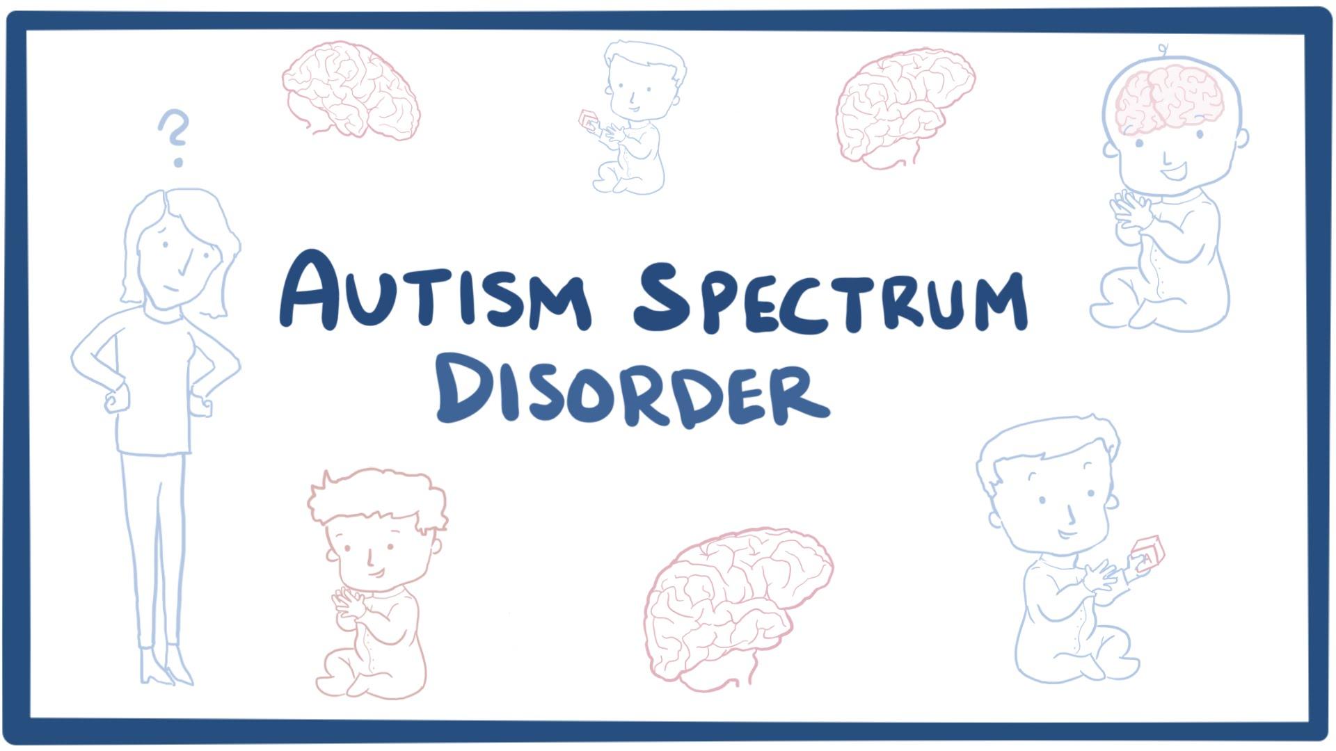 Autism spectrum disorder Osmosis