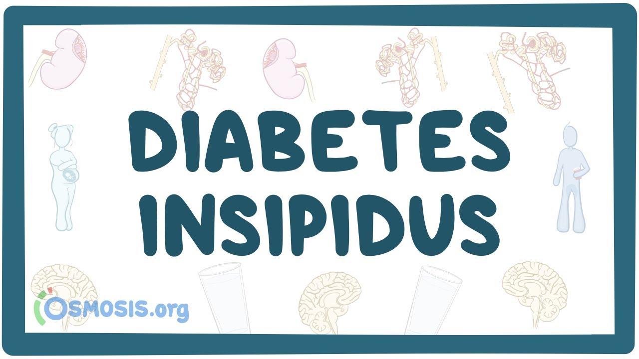 poliuria diabetes insípida nefrogénica